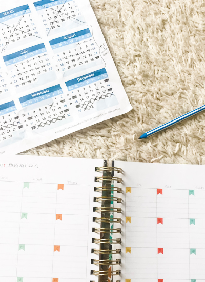 How to Plan a Full Year of Homeschool in ONE Weekend