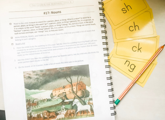 The Good and the Beautiful Kindergarten Homeschool Curriculum