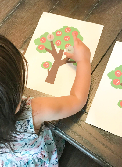 How to Teach Uppercase and Lowercase Letters to Your Toddler