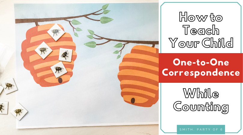 How to Teach One-to-One Correspondence to Your Child