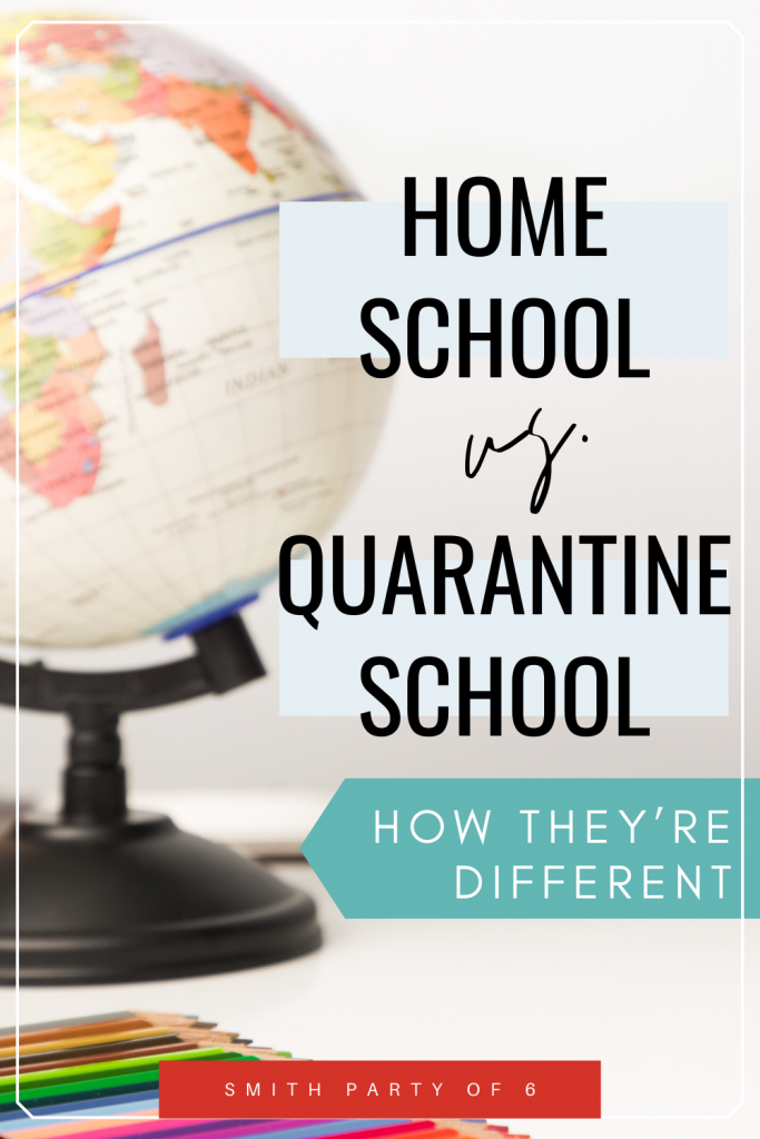 Homeschooling vs. Quarantine Schooling | How the They're Different
