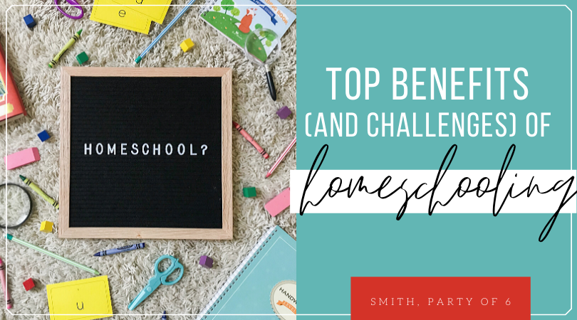 Top Benefits and Challenges of Homeschooling