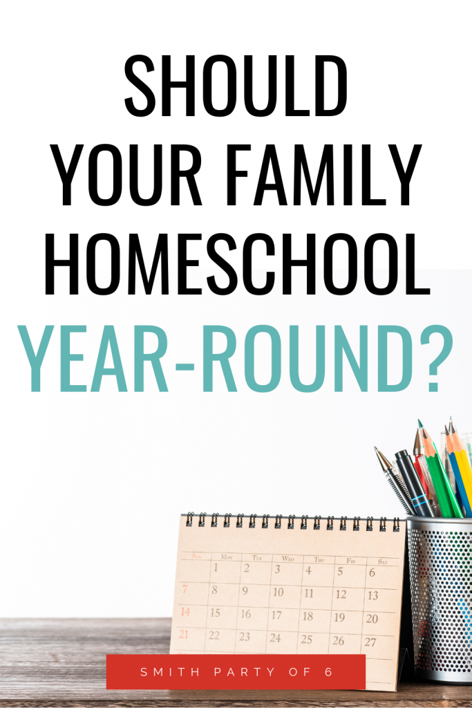 Should Your Family Homeschool Year-Round?