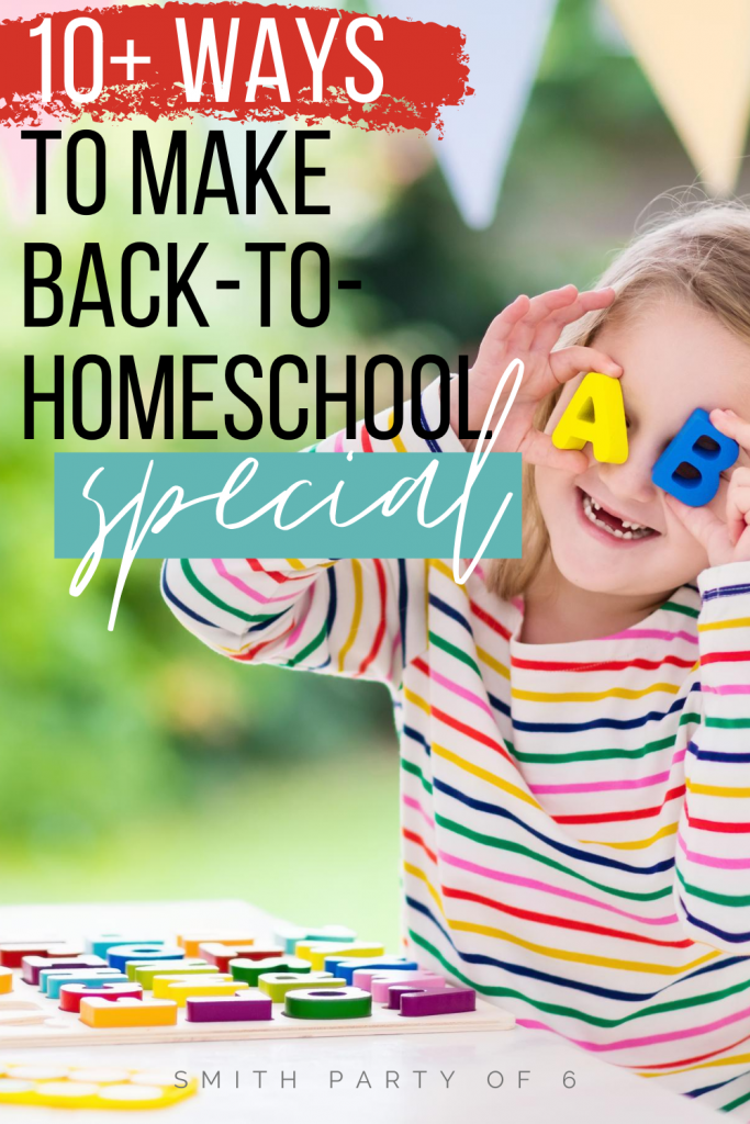 More than 10 ways to start your homeschooling year off with a bang