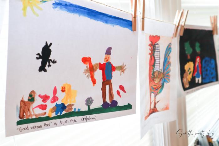 Read Aloud Tip: Kids' Paintings of Scene