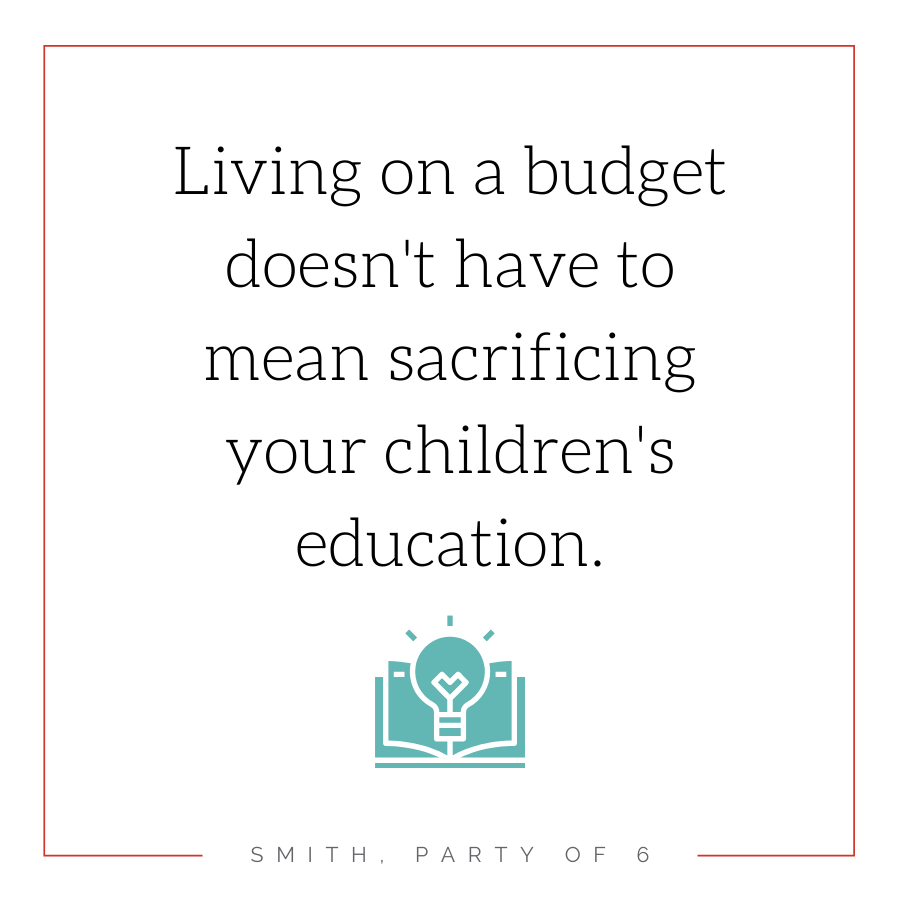 Living on a budget doesn't have to mean sacrificing your children's education | Homeschooling on a Budget