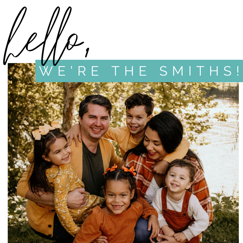 Hello, we're the Smiths!
