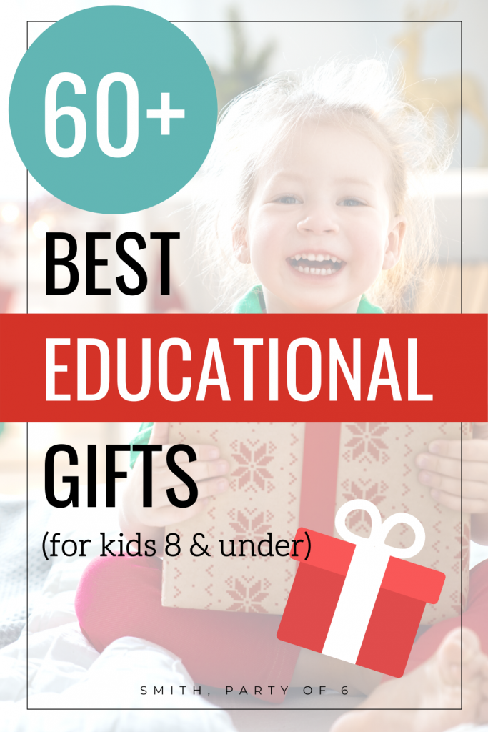 60+ Best EDUCATIONAL Gifts for Young Children | Holiday Gift Guide for Educational Toys By Age