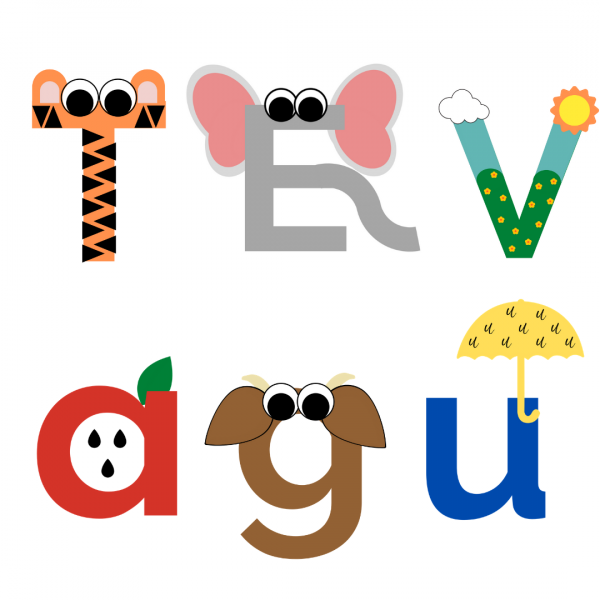 Preschool Letter Craft Examples