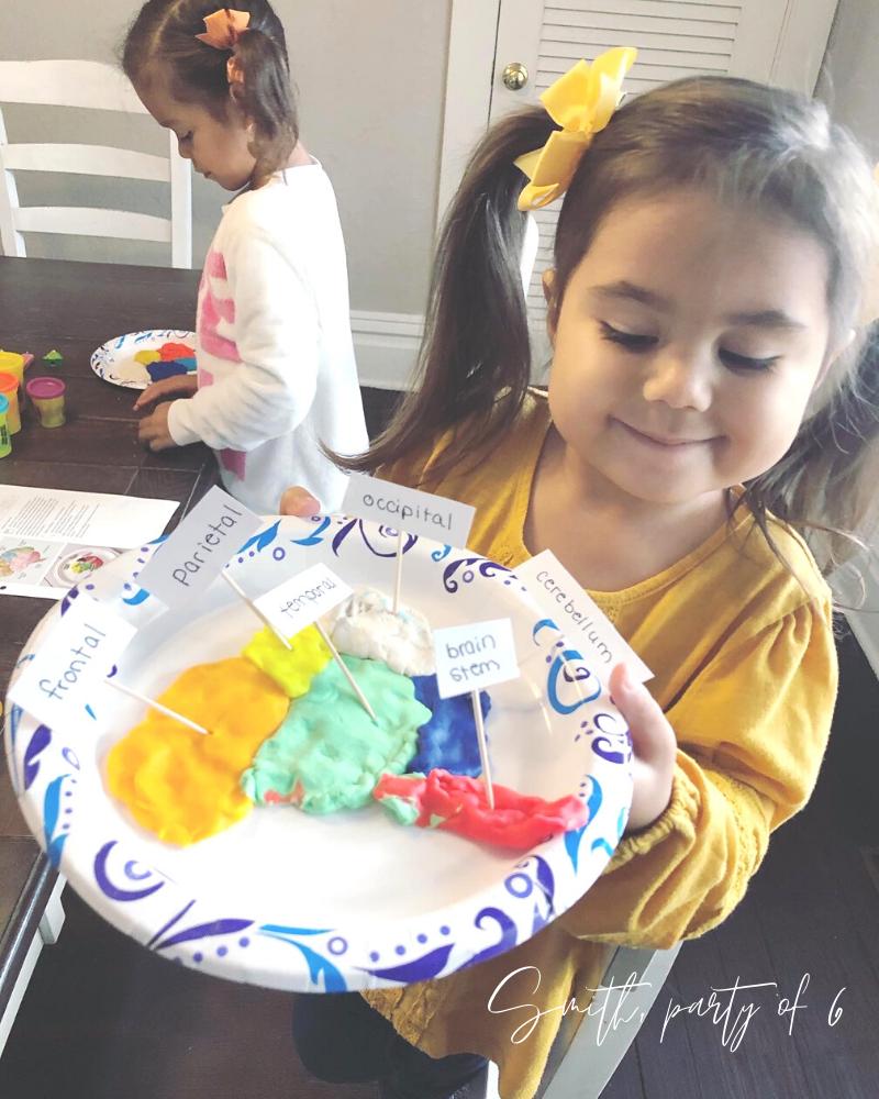 Homeschooling Play-Doh Brain